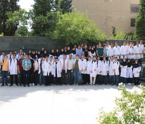 عکس دسته جمعی پایان دوره آزمایشگاه 1398 - المپیادلب