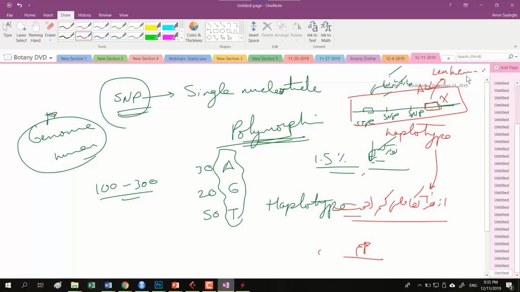 تصویری از دوره مولکولی المپیادلب
